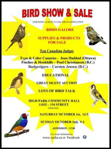 northern alberta cage bird association hari