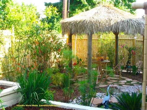 Tropical Backyard Ideas with Tropical Backyard Landscaping Ideas Home Design Elements
