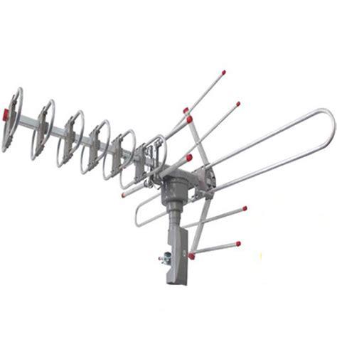 150miles digital outdoor 5w vhf uhf fm hdtv tv lified antenna high gain 36db