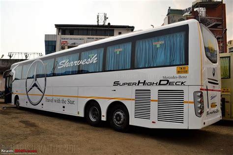 daimler india launches mercedes benz shd  coach team bhp