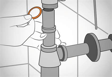Waschbecken Abfluss Einbauen by Waschtisch Anbringen Obi Erkl 228 Rt Schrittweise Wie Es Geht