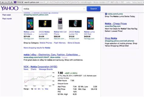 Fixed Top Bar Yahoo Search Testing A Fixed Top Search Bar Emarketing Wall
