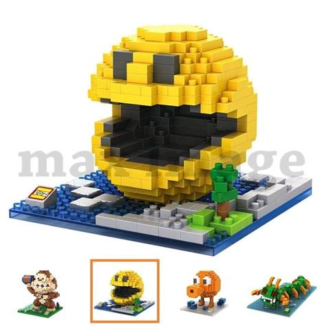 Loz Block Yellow nano block loz micro blocks building pixels