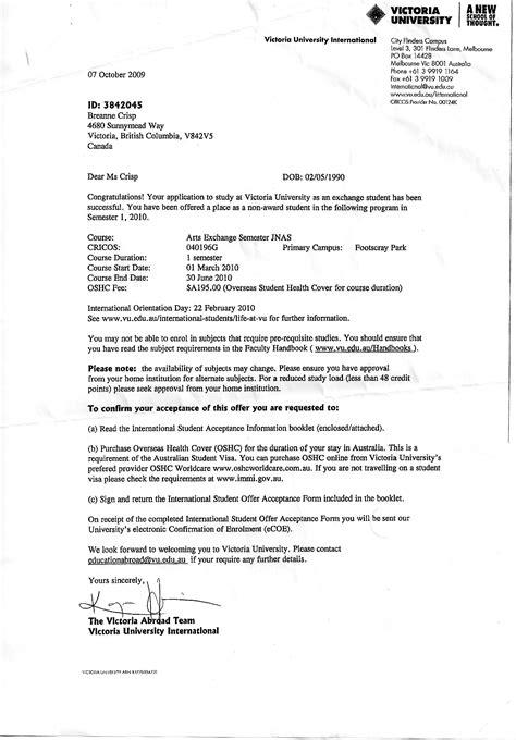 College Acceptance Letter Timing R 233 Sum 233 Breanne Crisp