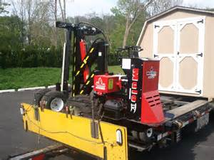 Shed Moving Trailer by Delivery