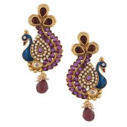 ear rings pic 25 peacock inspired beautiful earrings designs for gorgeous