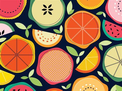 Kitchen Design Ideas 2014 fruit segments pattern