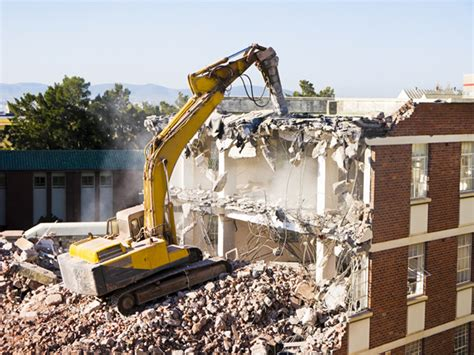 the efficiency associated with demolition of the domestic