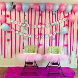 Party simple birthday decorations in home simple birthday party