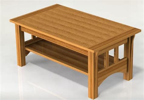 mission style coffee table woodworking plans plans