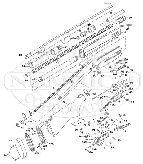 Winchester Model Super X3 Parts Numrich Gun Parts