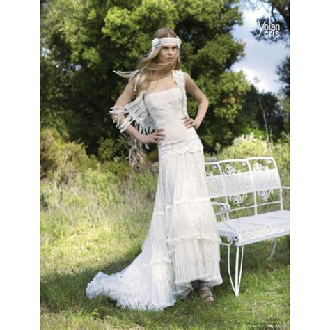 imagenes de vestidos de novia hippie chic el estilo vintage y hippie chic de las novias de yolancris