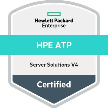hpe atp server solutions v4 acclaim