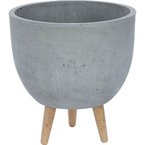 grey planter  legs xcm garden garden home