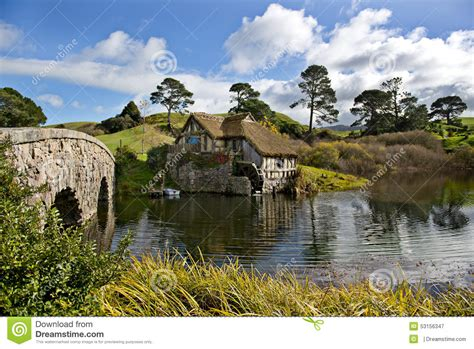 Mata Ponds lord of the ring set panorama editorial image