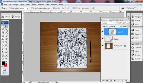 doodle tutorial mudah cara mudah membuat doodle dengan photoshop