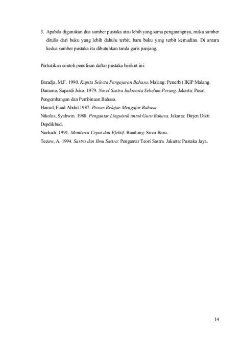 Pengantar Sejarah Dan Madzhab Linguistik Arab Malang petunjuk penulisan laporan praktek kerja industri