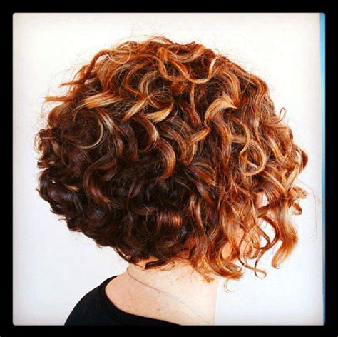 permed a line bob 17 best images about curly hair inspirations on