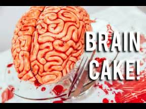 how to make a brain cake red velvet cake fondant and raspberry jam youtube