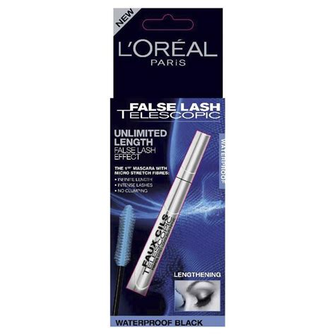 Loreal False Lash Miss Mascara Waterproof Black Ori buy l oreal false lash telescopic mascara waterproof black at chemist warehouse 174