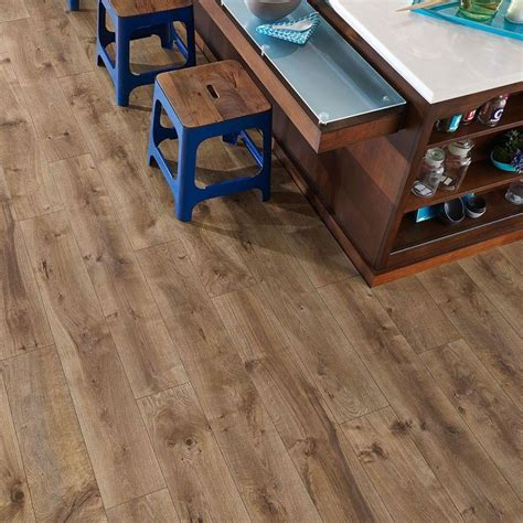 pergo xp riverbend oak 10 mm thick x 7 1 2 in wide x 47 1 4 in length laminate flooring 19 63