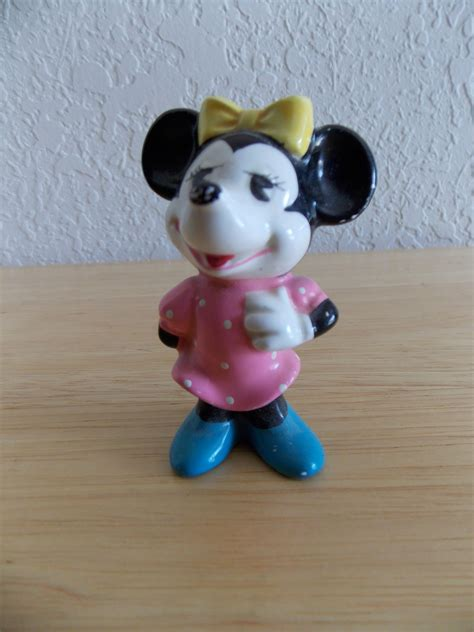 Minnie Mouse Powder Original Disney Japan disney minnie mouse made in japan ceramic figurine minnie mouse