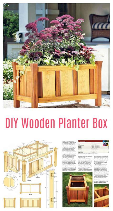 planter box ideas 10 amazing diy wooden planter box ideas