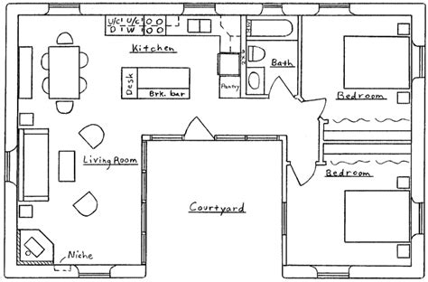 u shaped house floor plans u shaped house plans 171 floor plans