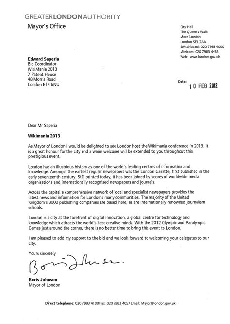 Letter Of Support Template Uk File Wikimania 2013 Letter Of Support Mayor Of Pdf Meta