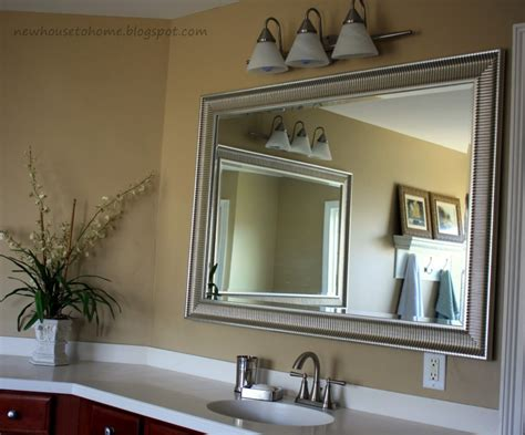 Bathroom Mirror Decorating Ideas by Make Your Bathroom Look With A Bathroom Wall Mirror