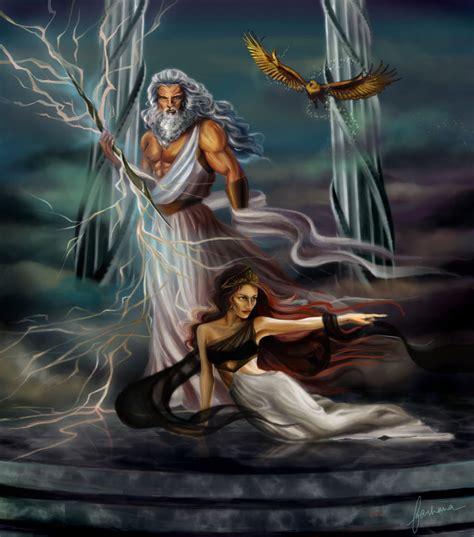 imagenes de zeus dios griego zeus and hera by dewmanna on deviantart