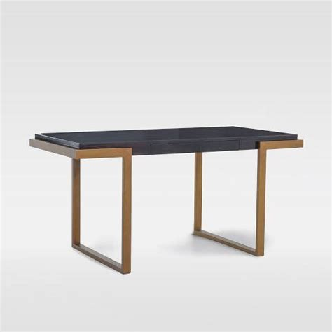 west elm framed desk desk i west elm