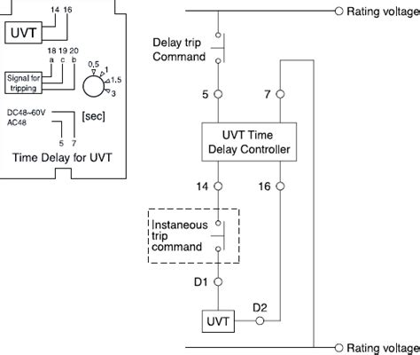 wiring diagram of air circuit breaker