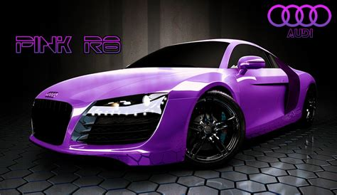 pink audi audi a8 pink by absolutehack on deviantart