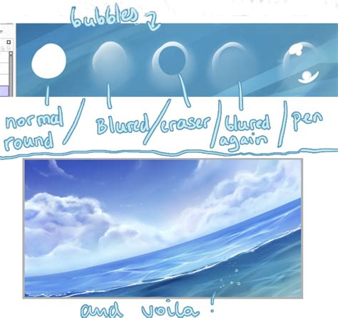 Painttool Sai Water Tutorial Free3dtutorials