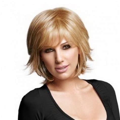 picture of layered shag for pear face 17 best images about haircuts on pinterest medium length