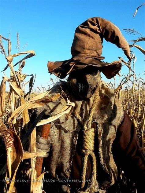 evil scarecrow costume scarecrow   corn