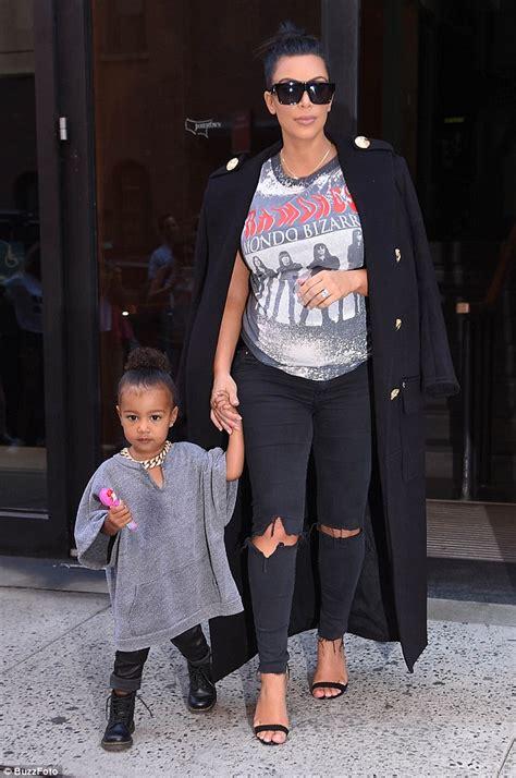 is kim kardashian daughter really named north kris jenner visits kim kardashian as it s rumored baby boy
