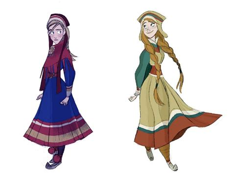frozen after concept photo 2 of 2 costume design in animation disney s frozen tyranny of