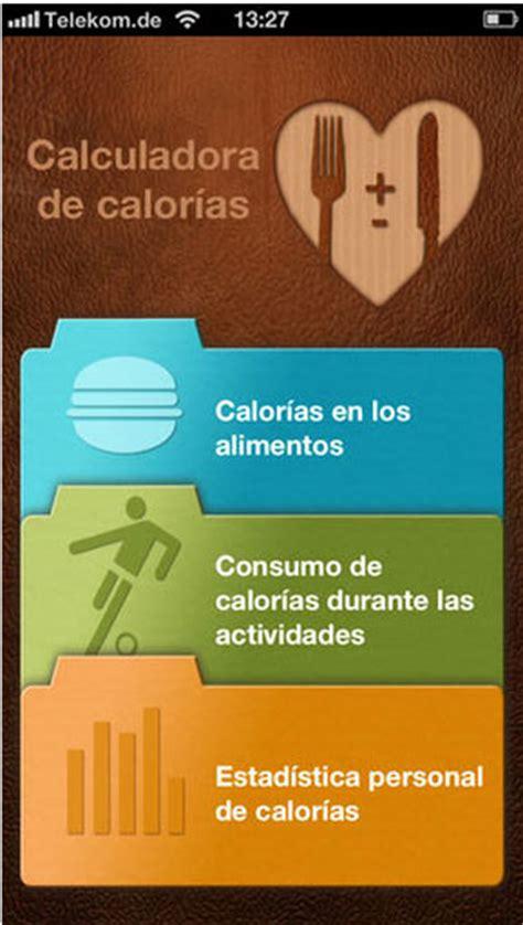 calculadora de calorias energia  crecer