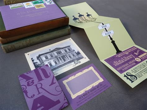Fold Libraries And The Assault On Paper - s library wedding invitations