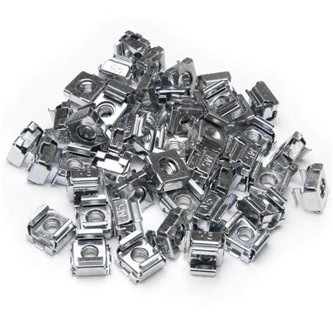 Rack Mount Nuts And Bolts by 50 Pkg M5 Cage Nuts For Server Rack Server Rack Shelves