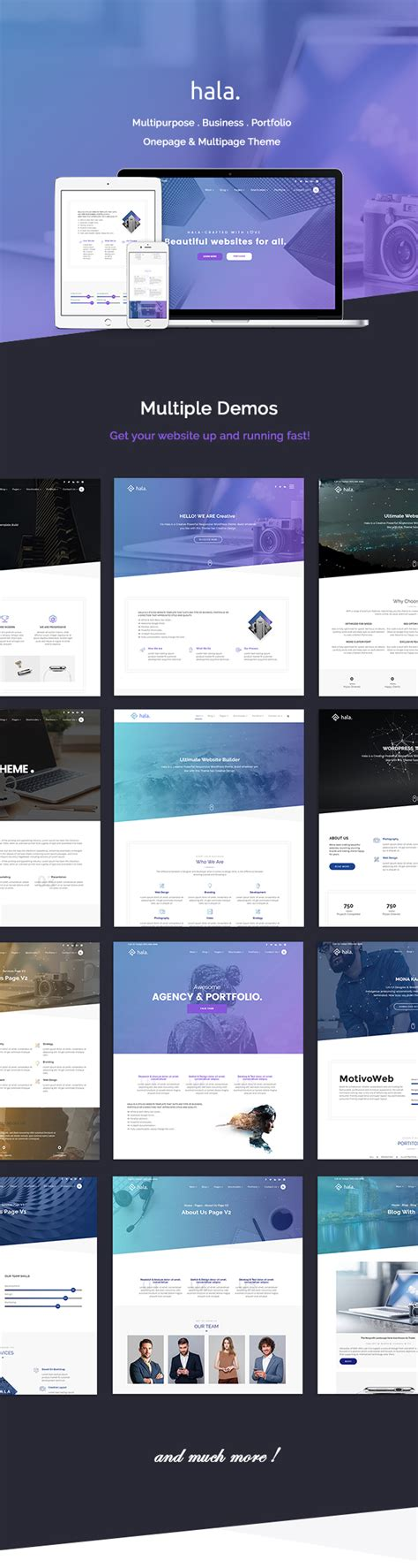 ps4 themes installieren hala creative multi purpose wordpress theme webdesign