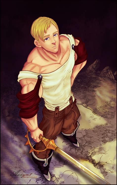 anoboy seven deadly sins escanor by auryn1 on deviantart