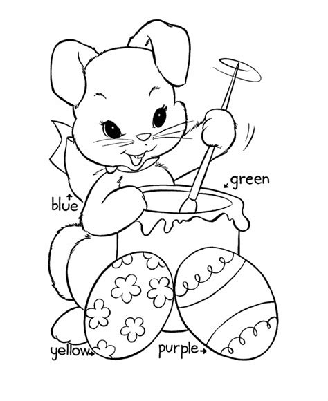 Easy Easter Coloring Pages easter egg coloring pages bluebonkers easy easter egg coloring coloring pages p 20