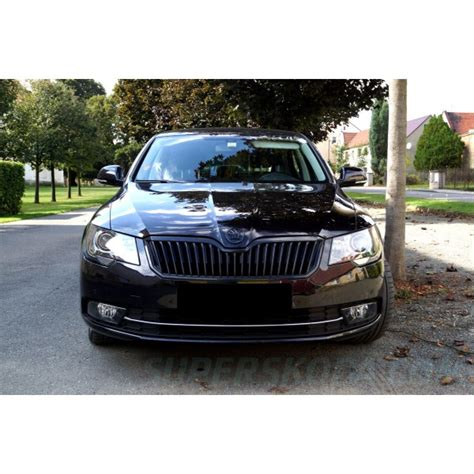 skoda black magic škoda superb ii facelift 13 15 maska black magic
