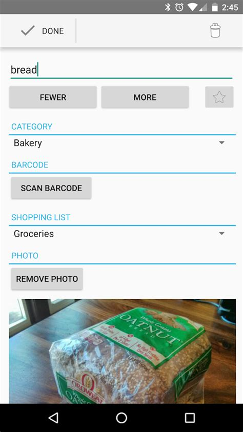 grocery app android our groceries shopping list android apps on play