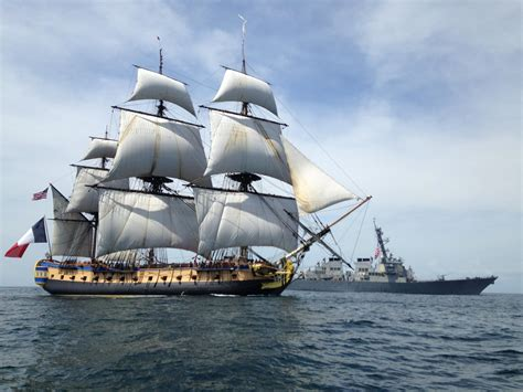 dessin bateau marine nationale l hermione histoire forum militaire