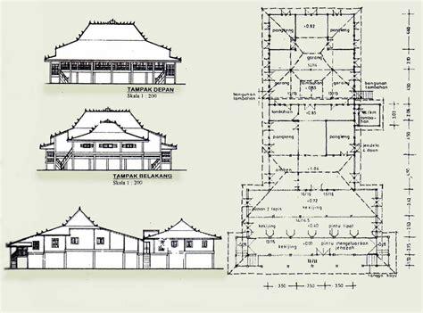 gambar sketsa rumah adat indonesia cahaya rumahku