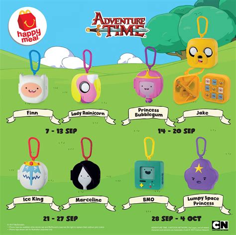 mcdonald s malaysia adds adventure time to its happy meal